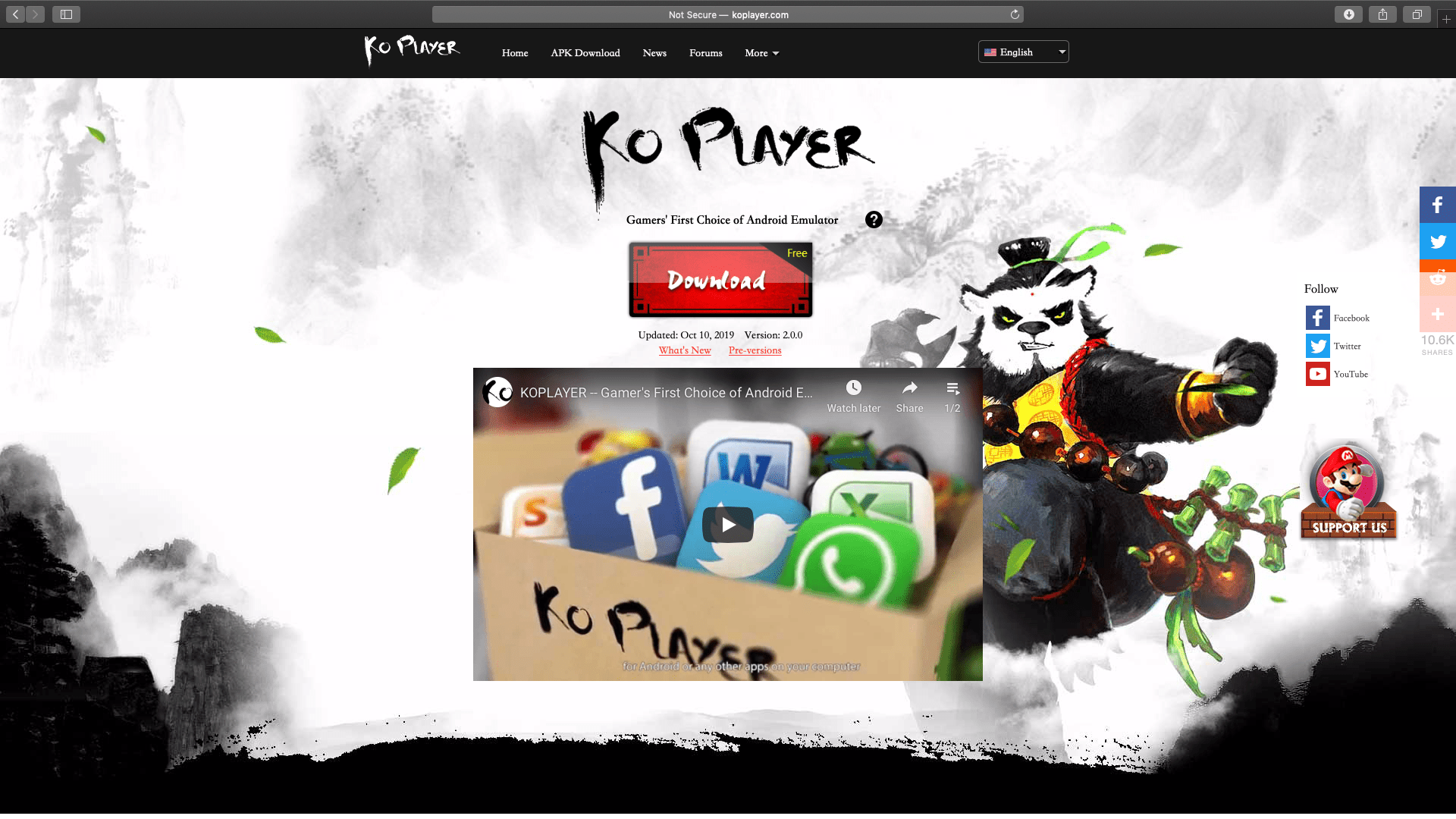 KO Player Download Page