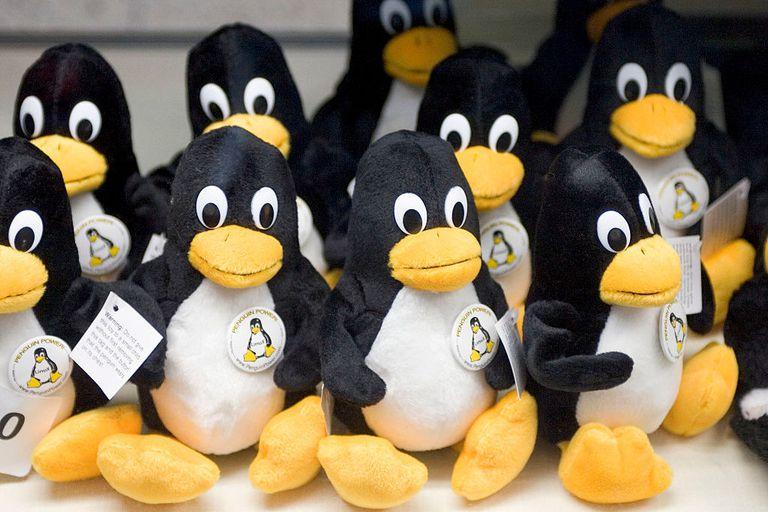 Plush Linux Penguins