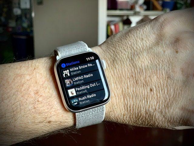 Pandora app on Apple Watch