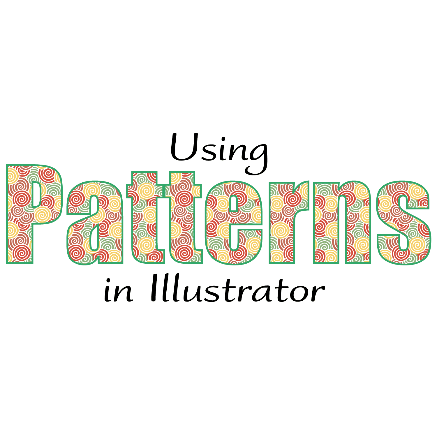 How To Use Pattern Fills In Illustrator