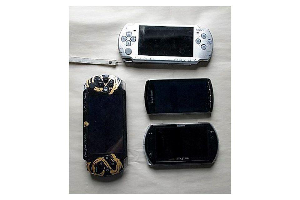 PSP-1000, PSP-2000, Xperia Play and PSPgo
