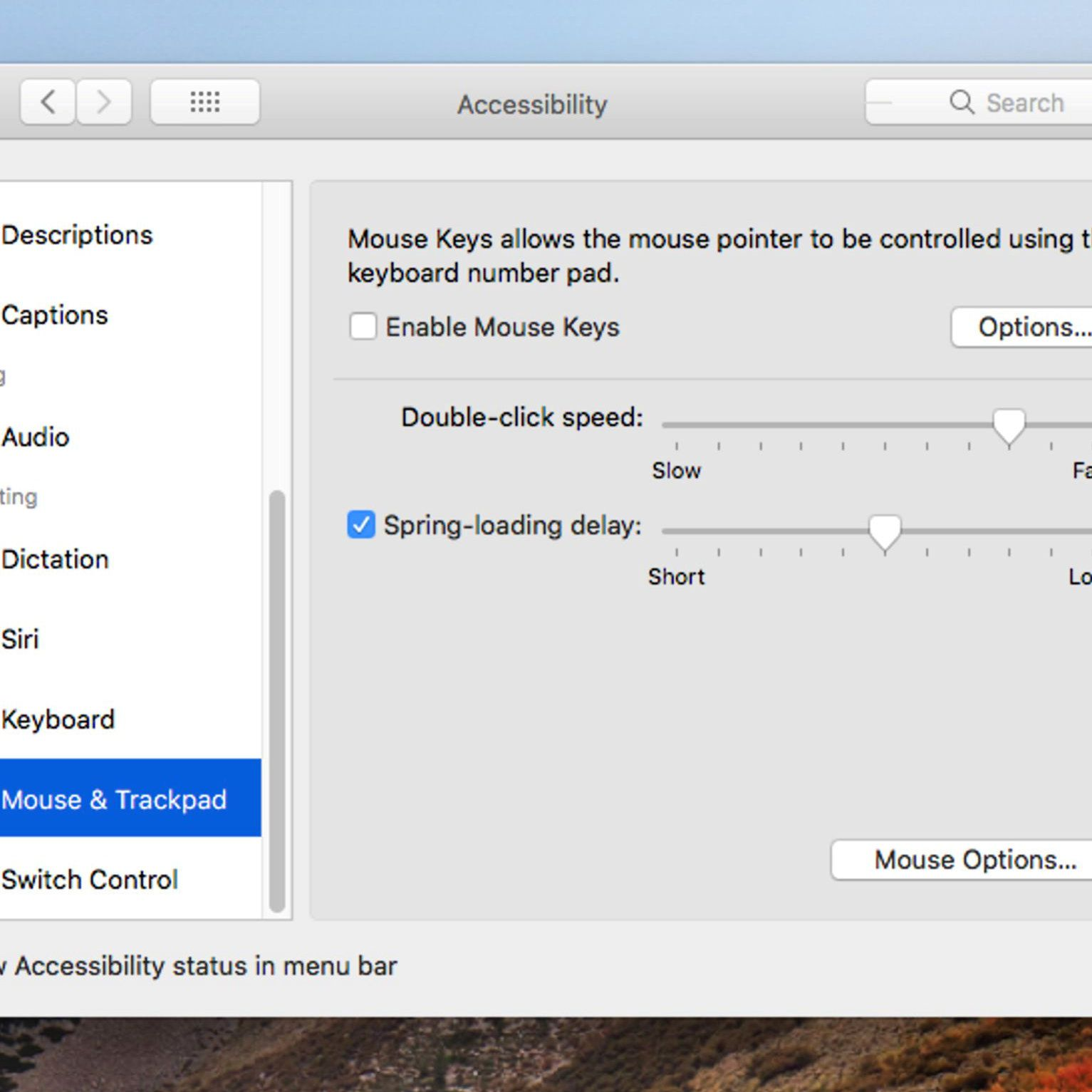 How to Configure the Finder's Spring-Loaded Folders