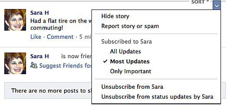 Hide Friends on Facebook to Clean Up Your News Feed
