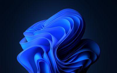 Blue windows wallpaper