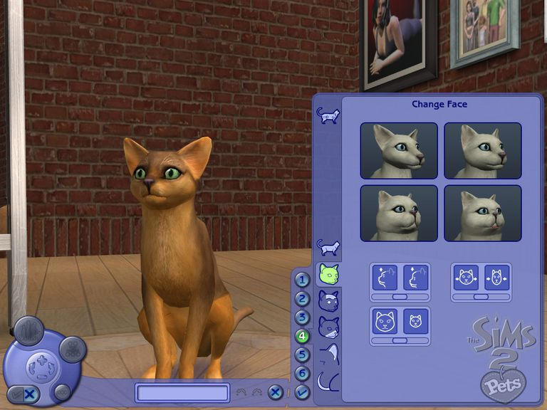 Creating a Cat on The Sims 2 Pets