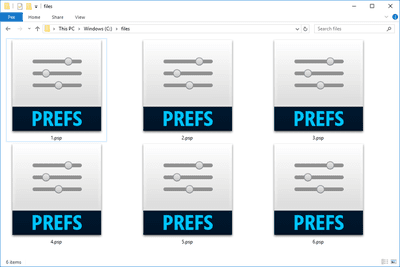 PSP files in Windows 10 that open with Adobe Photoshop