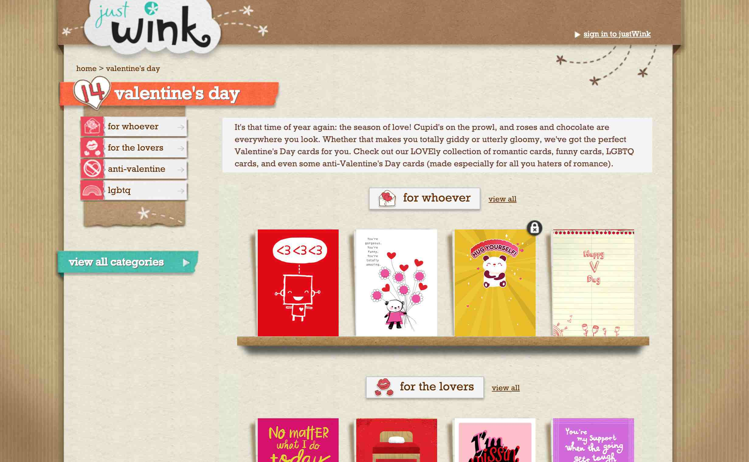 Just Wink Cards & Greeting Cards American Greetings