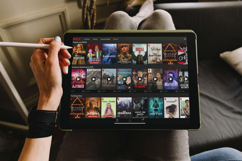 Netflix on iPad Pro