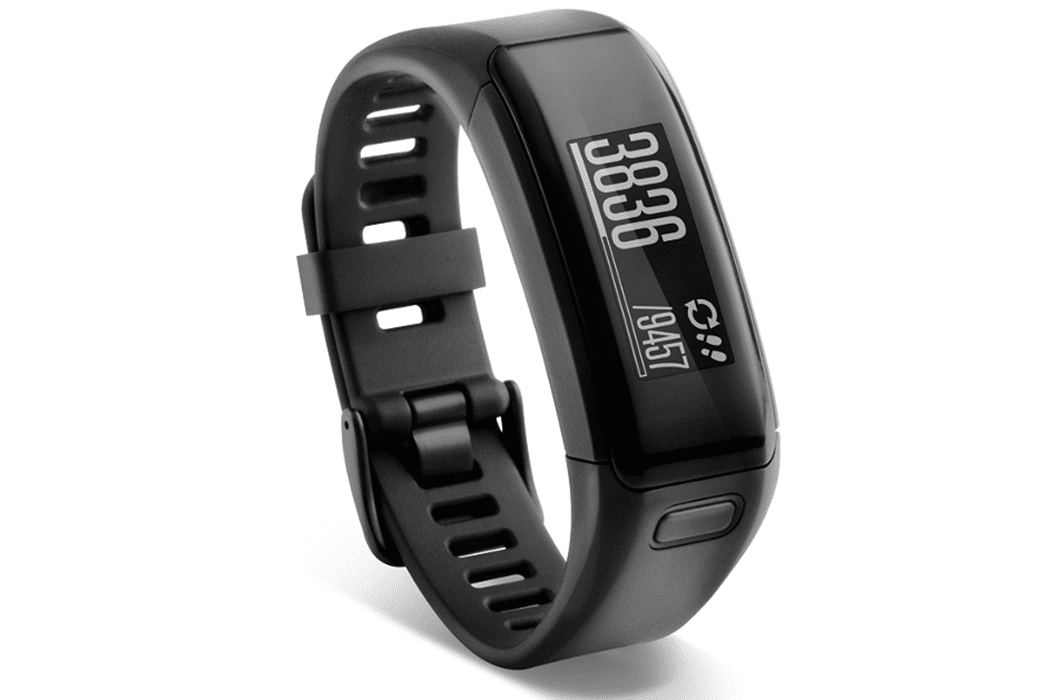 An image of the vívosmart® HR heart rate-tracking fitness band.