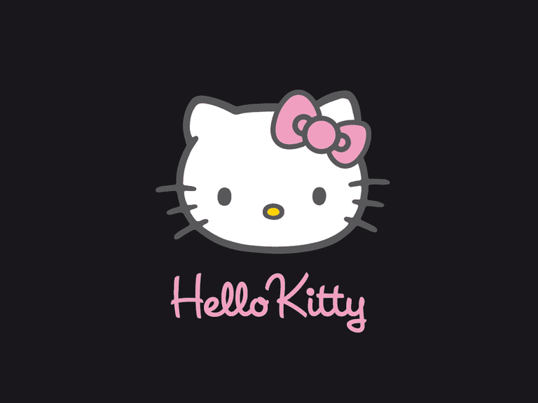 The top free hello kitty wallpapers screenshot of a simple black hello kitty wallpaper thecheapjerseys Choice Image