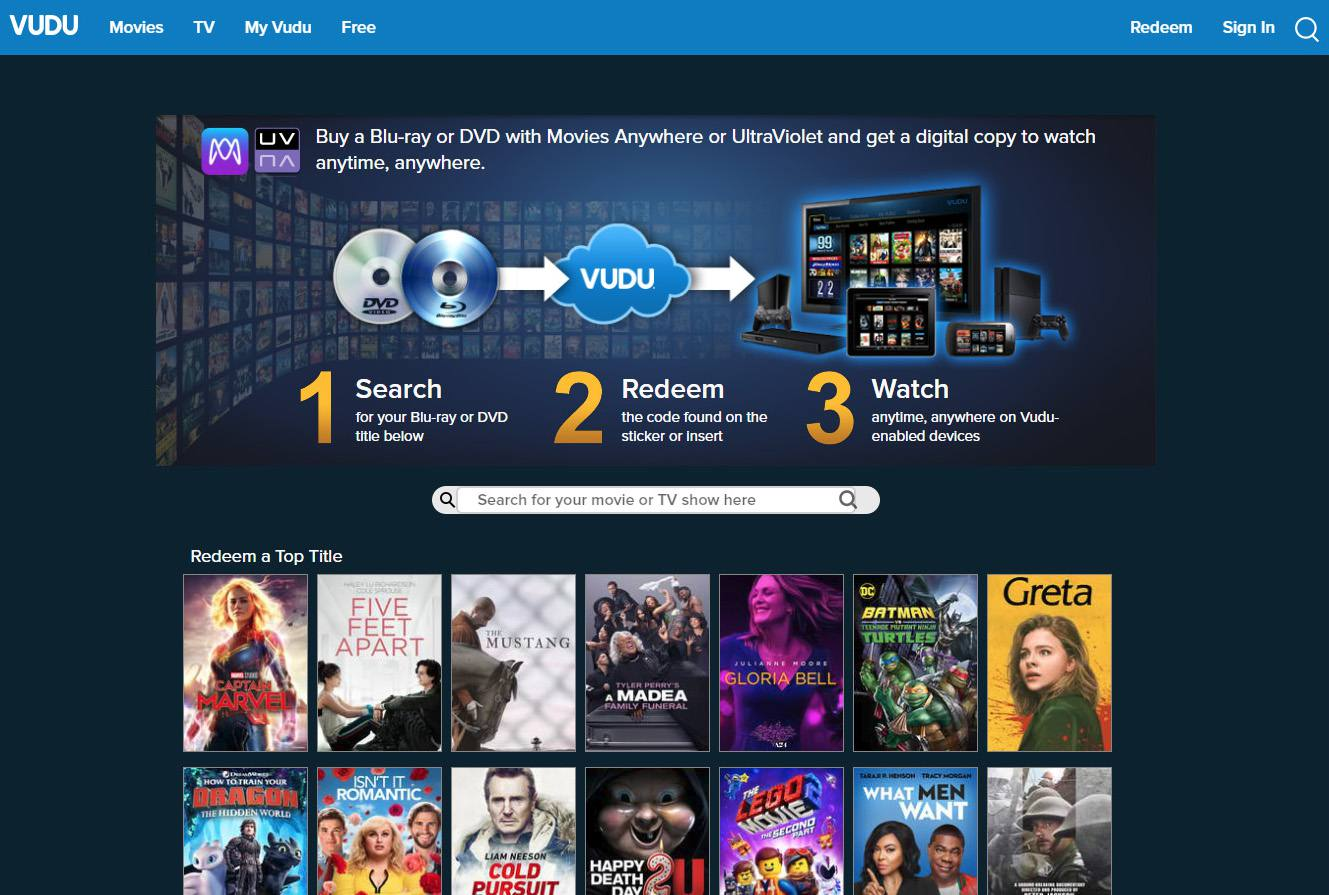 All About The VUDU On-Demand Video Streaming Service