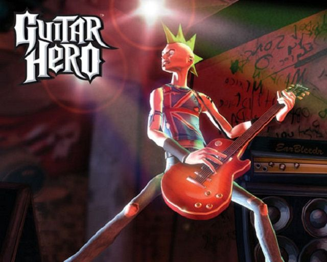 Screenshot from Guitar Hero for PS2