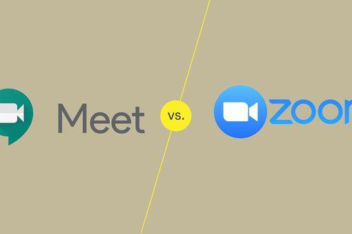 Illustration of Google Meet Vs Zoom