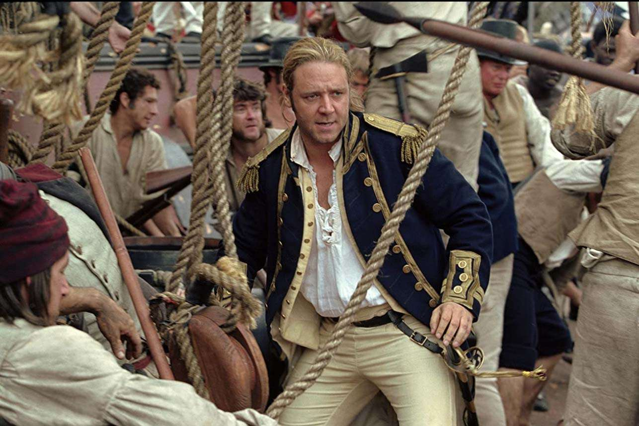 Russell Crowe in 'Master and Commander: The Far Side of the World'