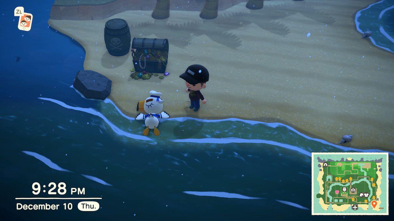 Gulliver in Animal Crossing: New Horizons
