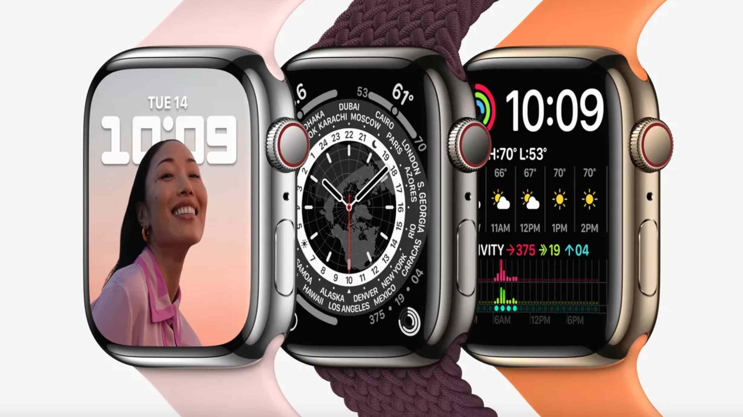 Apple Watch Series 7 preorders live