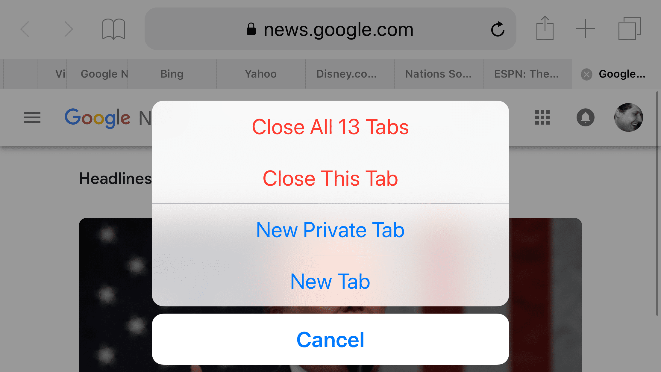 Close All Tabs in Safari on the iPhone or iPad Immediately!