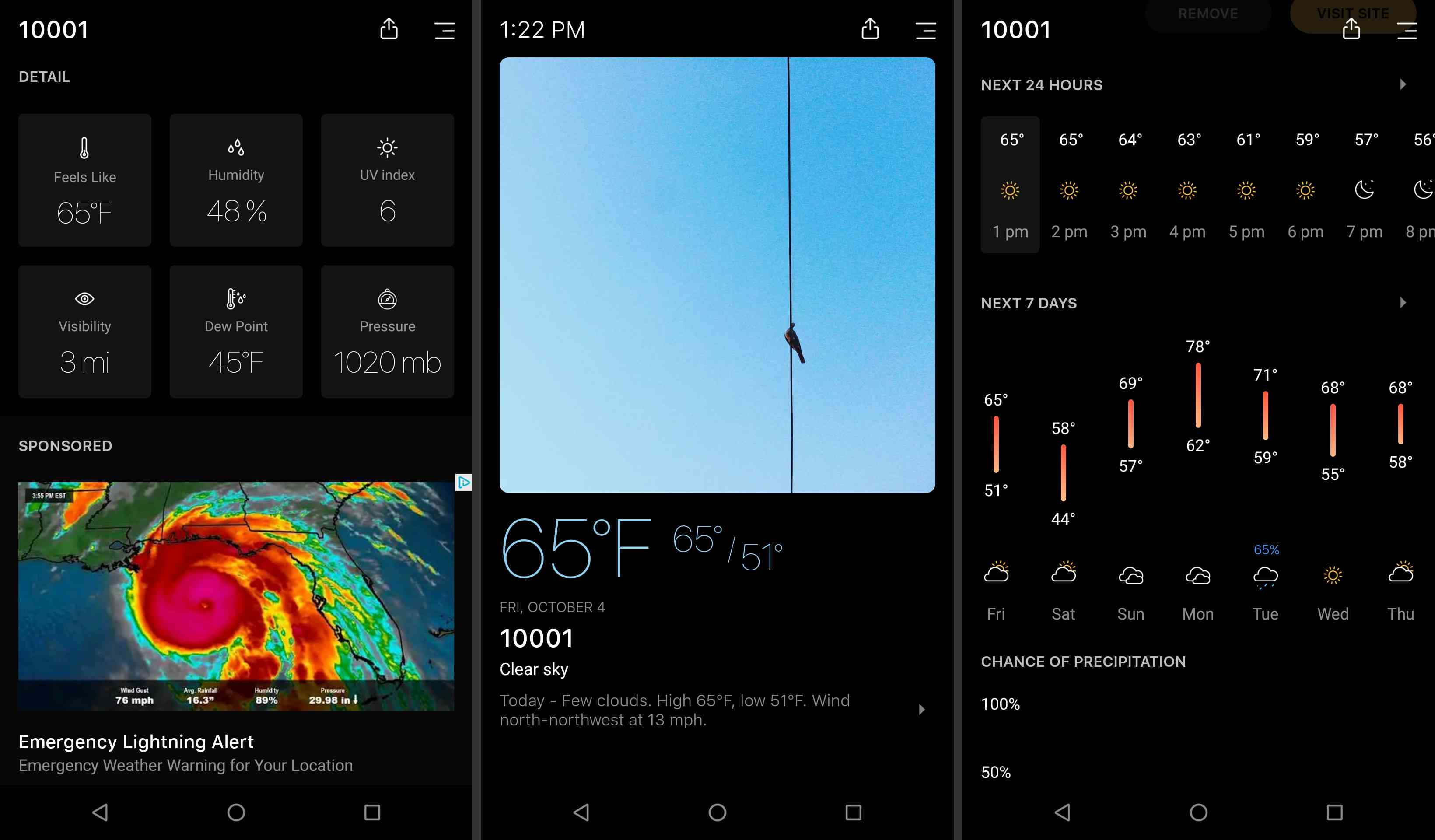 Android Today Weather