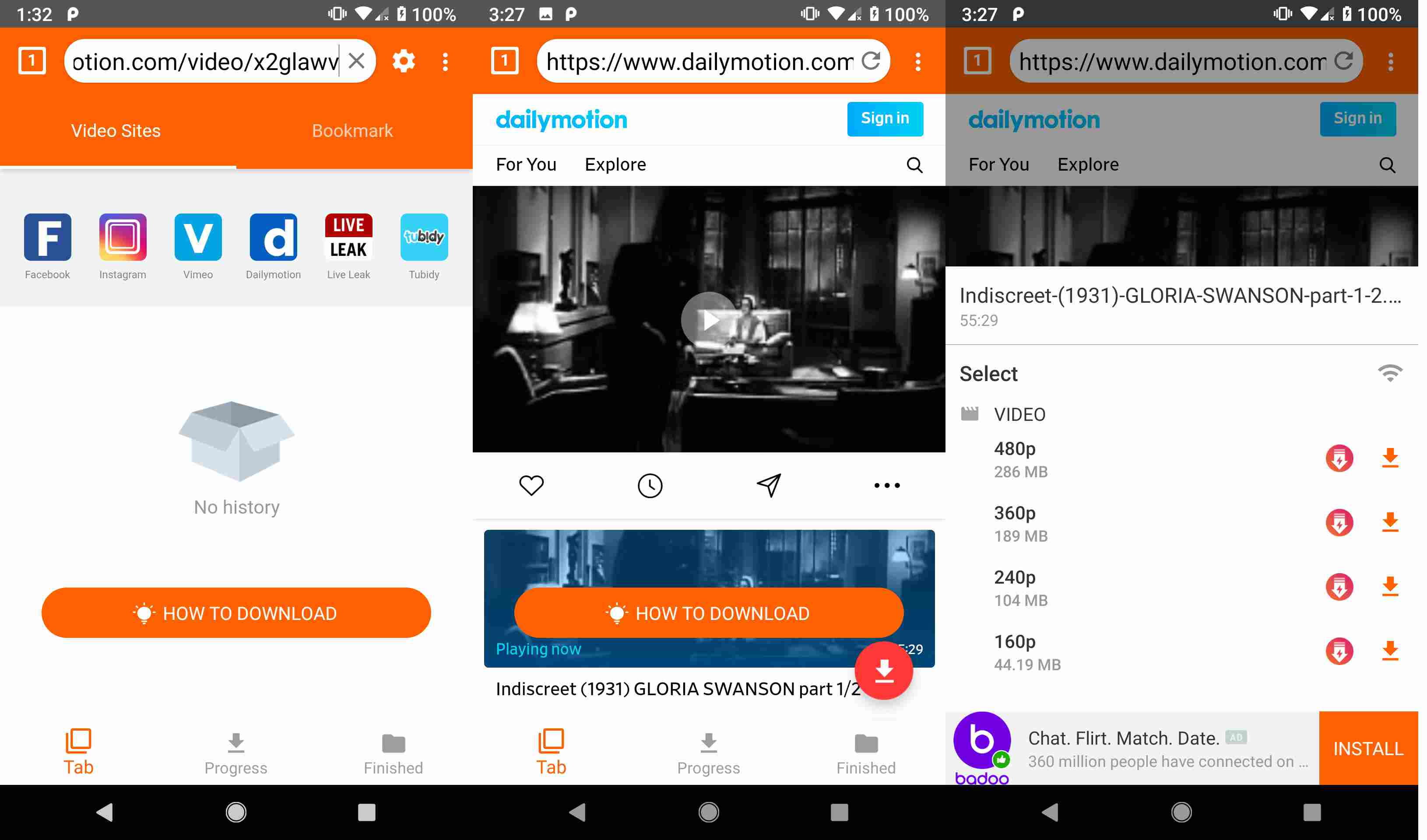How to download free mp4 movies on android phones or tablets.