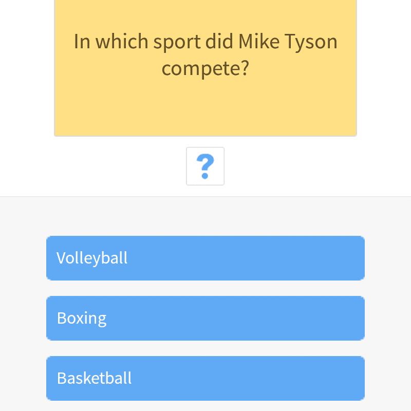 Screenshot from Trivia 360