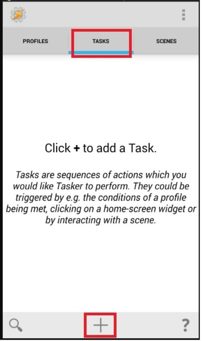 Tasker screenshot
