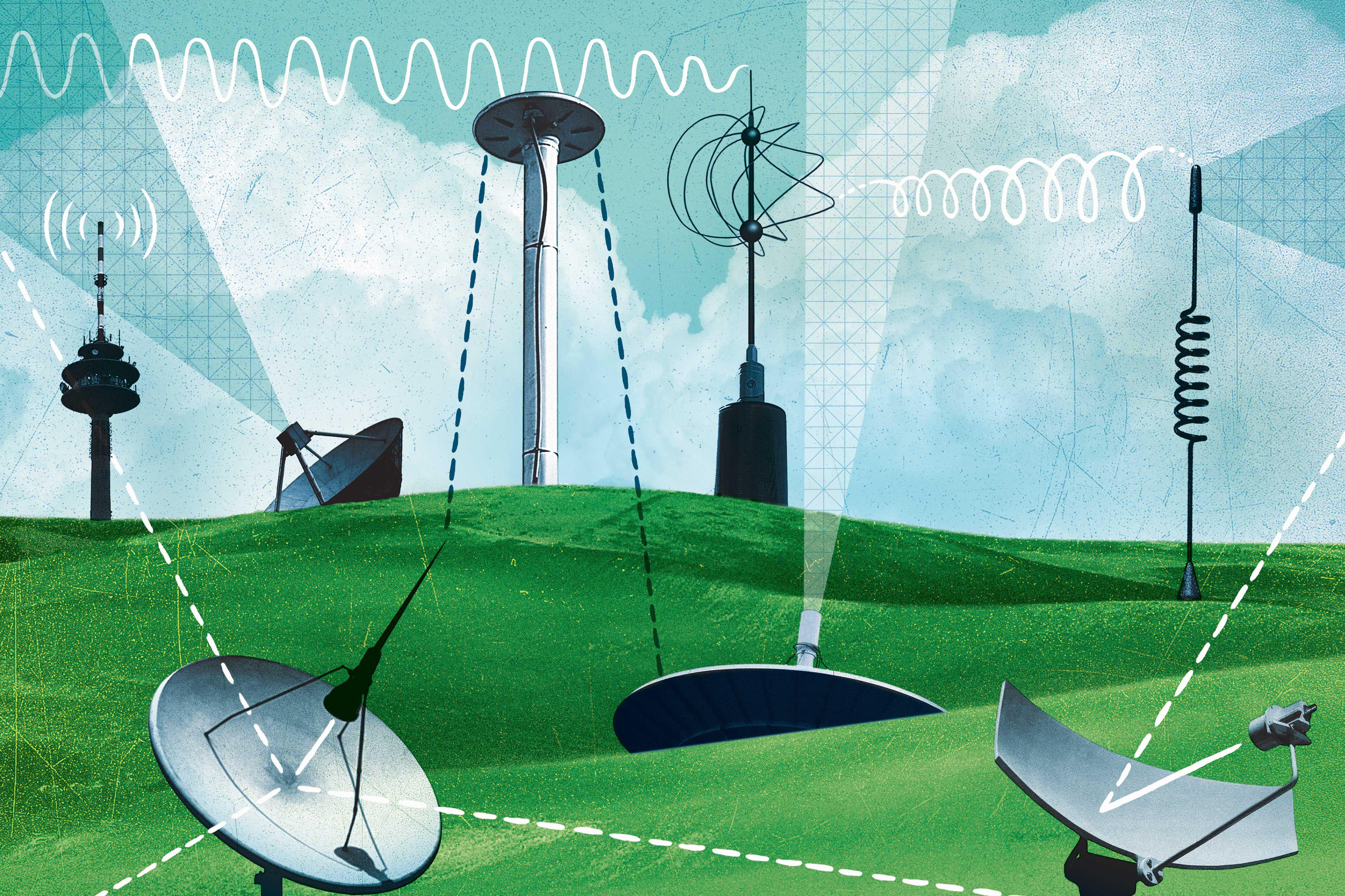 Antennas and satellite dishes