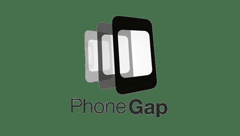 Screenshot of the PhoneGap logo
