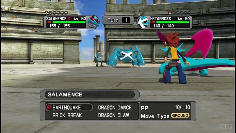 Pokemon XD Gale of Darkness battle arena