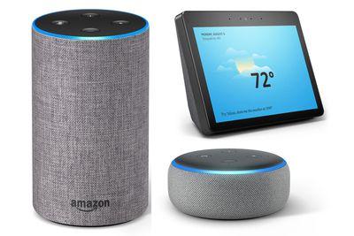 Amazon 2nd Generation Echo, Dot, and Show