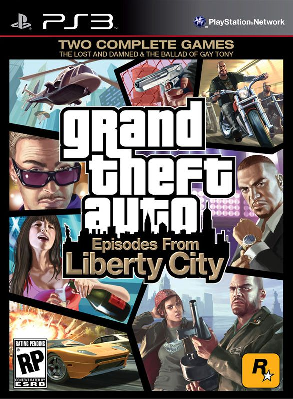 Grand Theft Auto: Episodes From Liberty City (PS3)