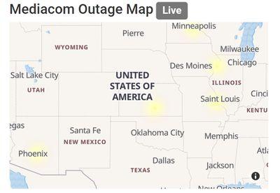 Mediacom outage map