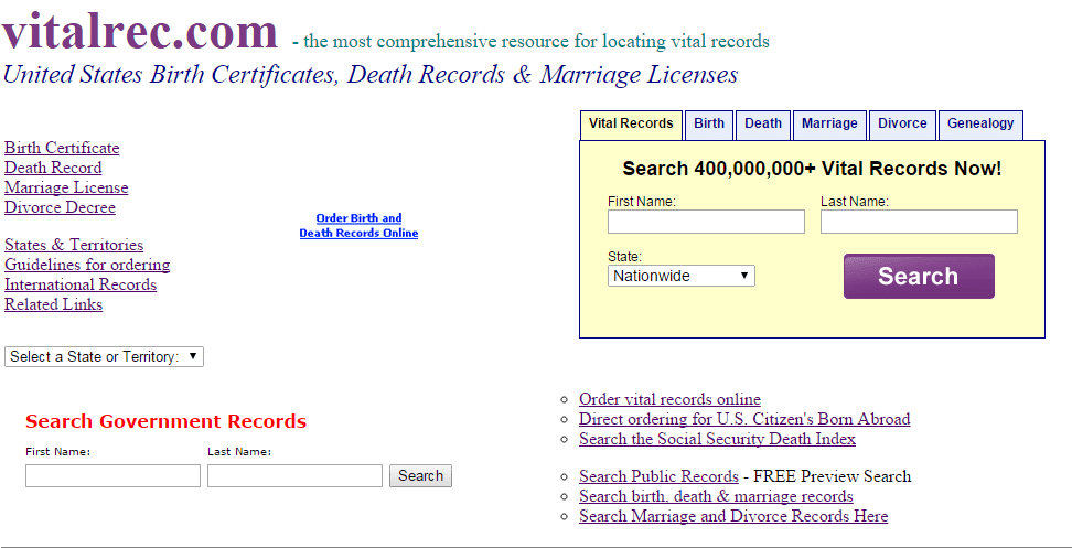 Finding Public Records Online The Top Free Sources