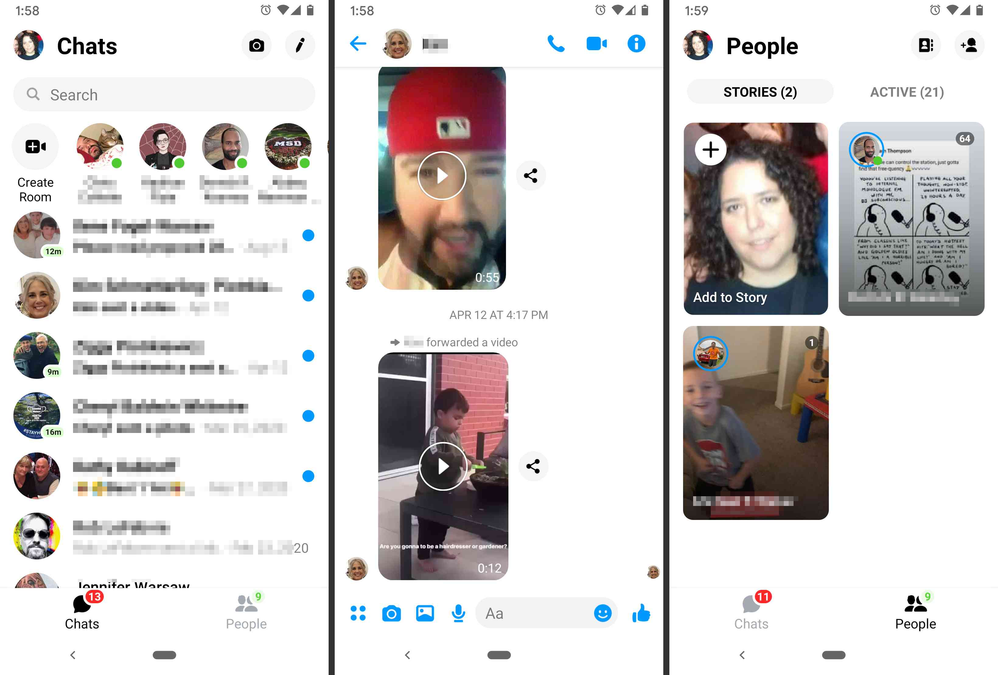 Facebook Messenger lets you stay in touch with your contacts on the social network.