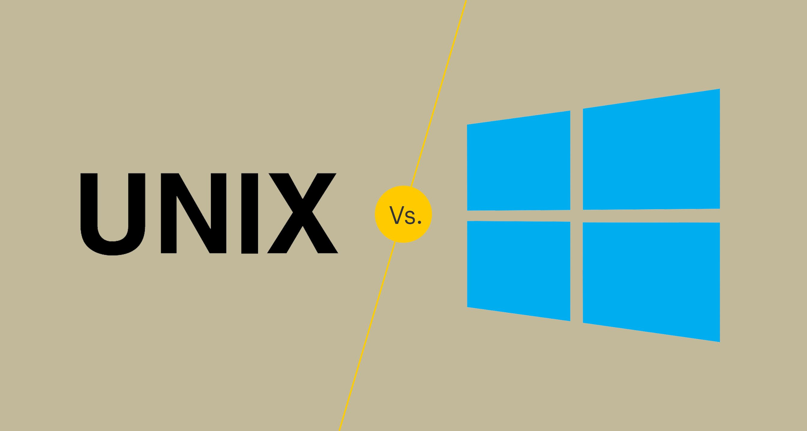 UNIX vs Windows