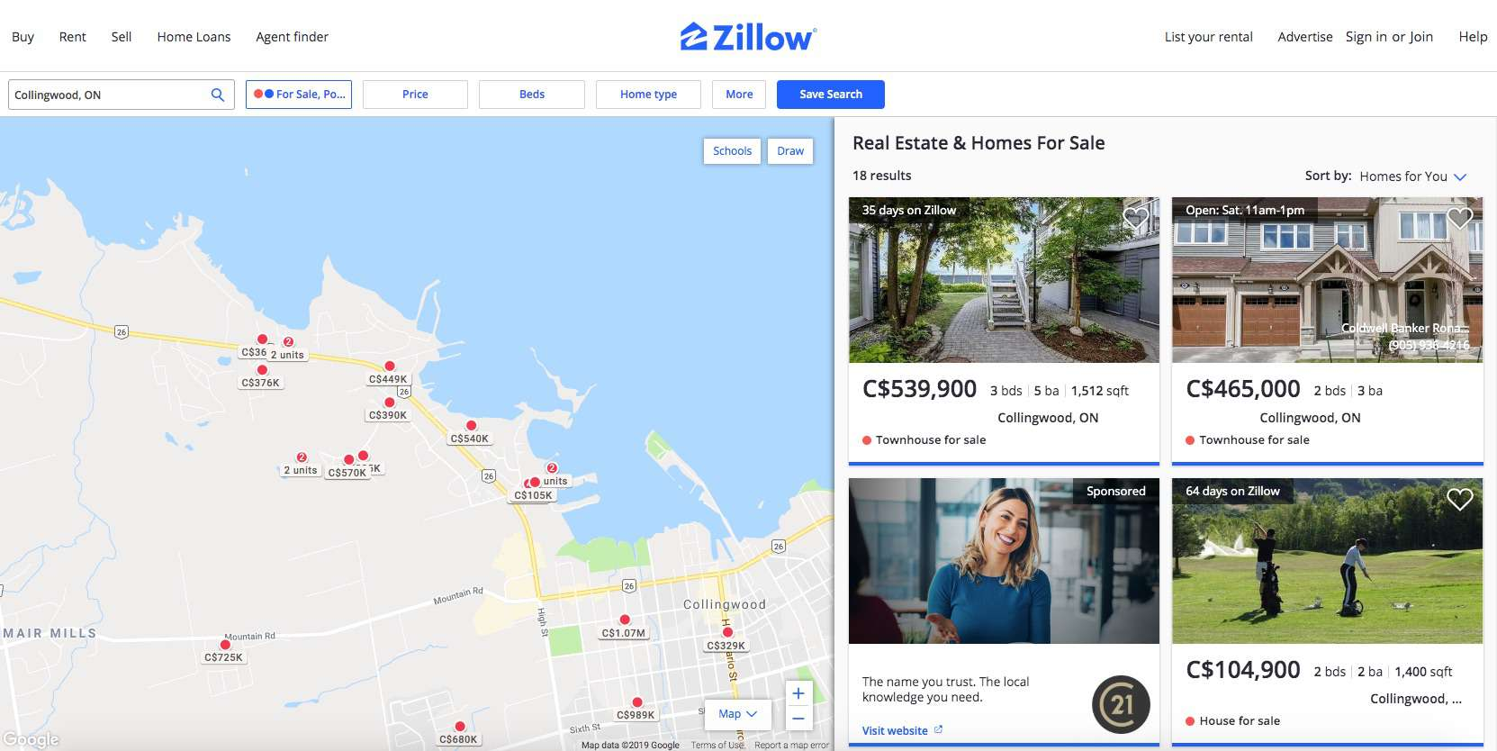 Using Zillow for All Your Real Estate Needs on