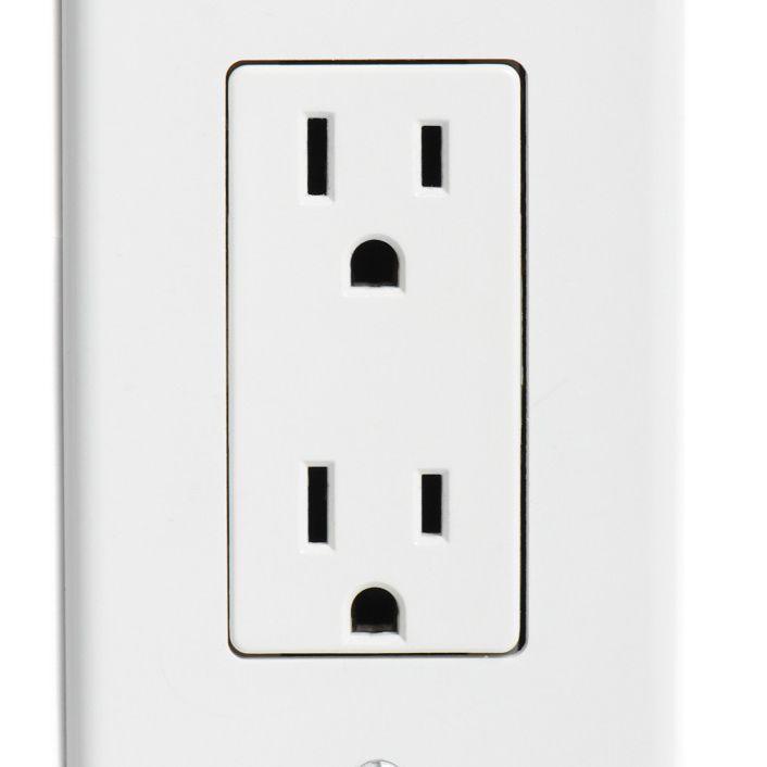 120 volt household outlet.