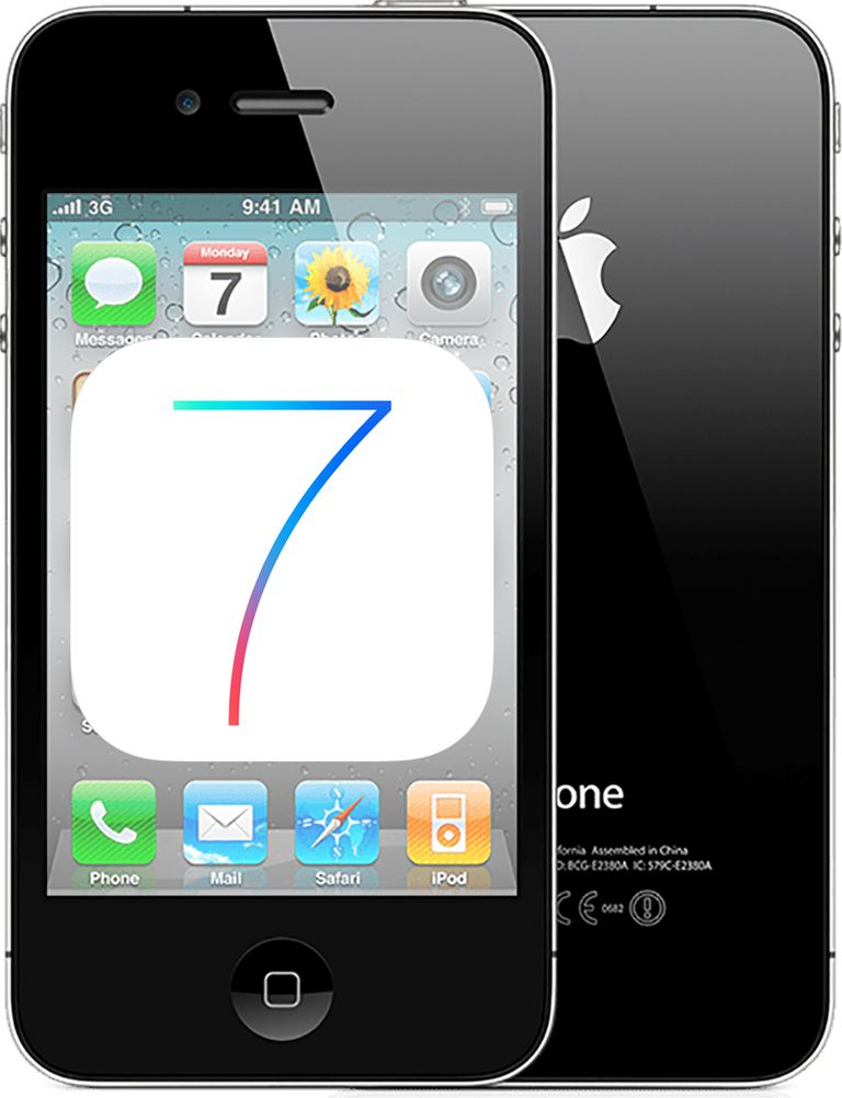 upgrade iphone 4 to iOS 7?