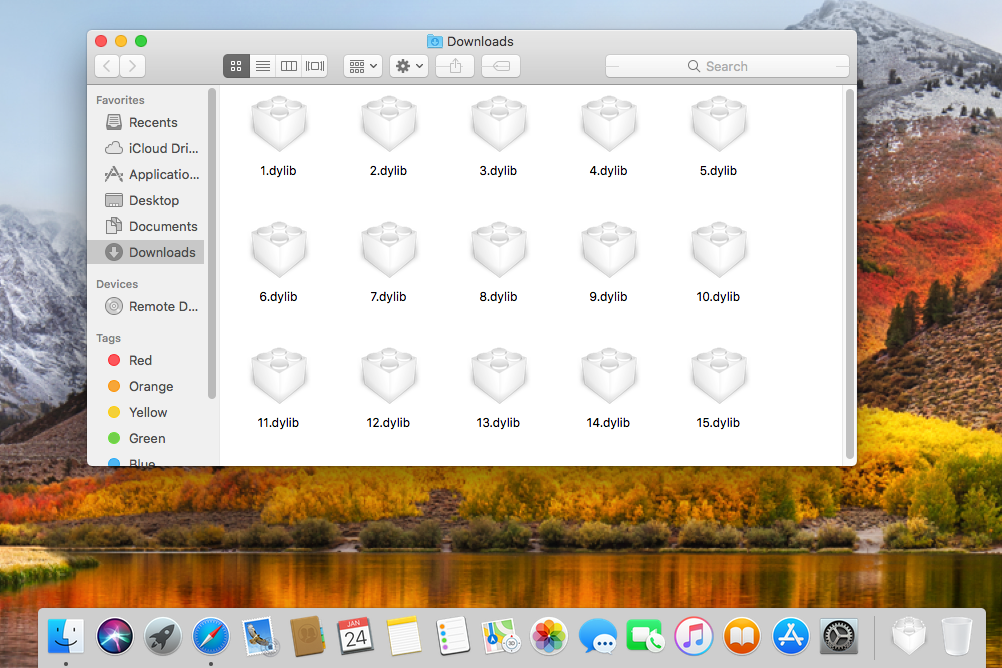 DYLIB files in macOS High Sierra