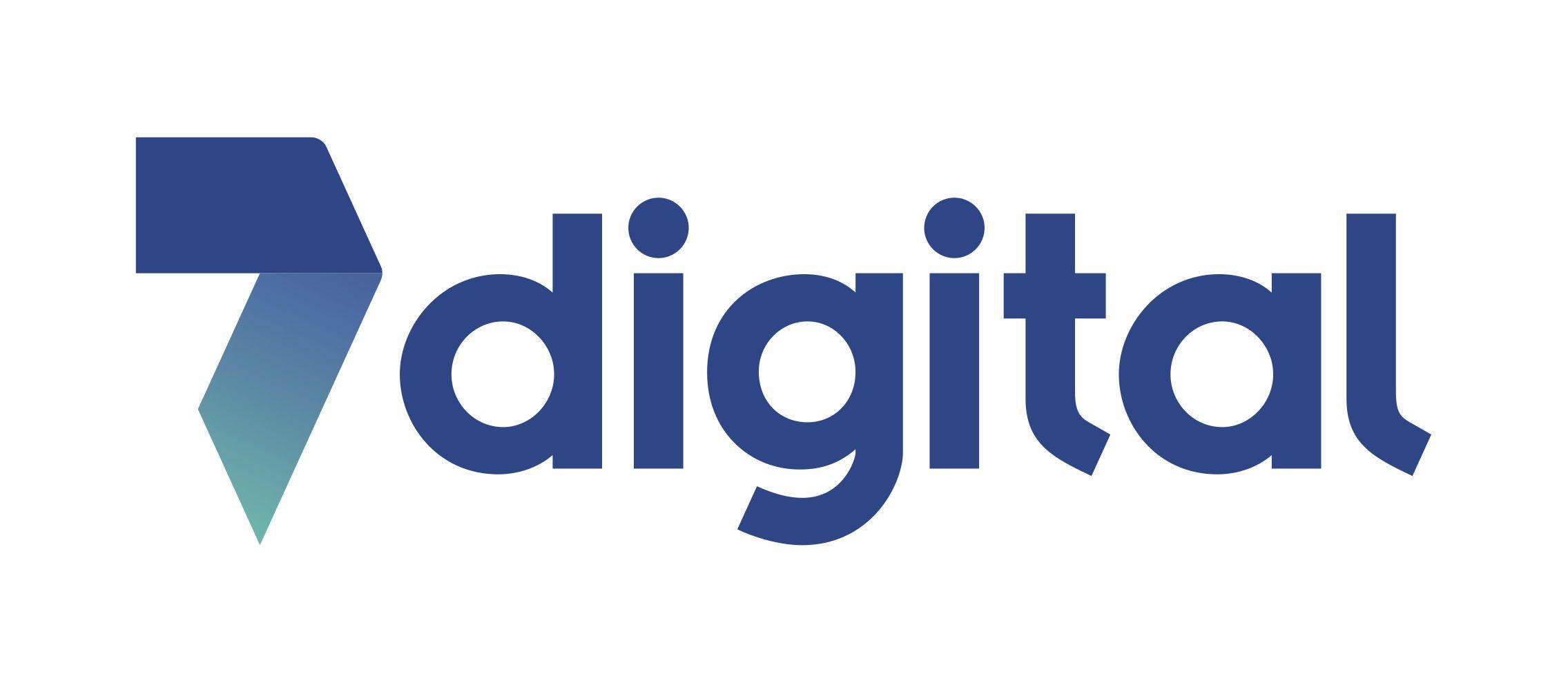 Logo of 7 Digital music download service