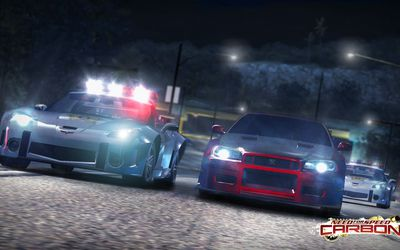 need for speed carbon starting cars