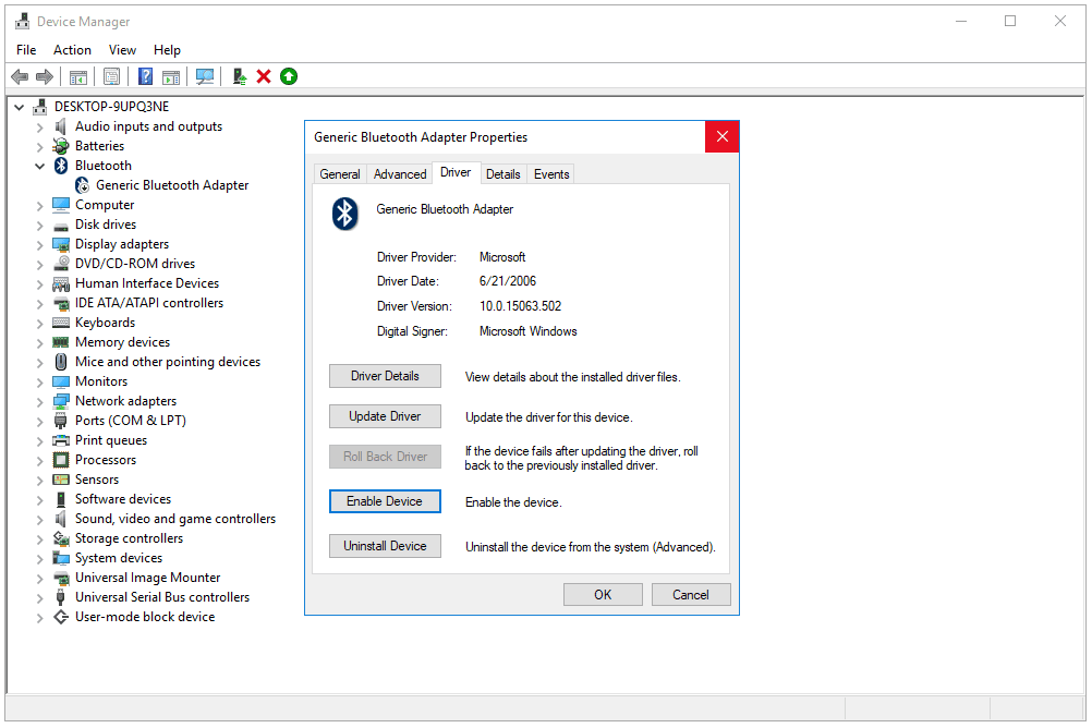 the drivers for this device are not installed. (code 28) windows 10 mtp