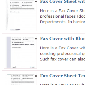 blue layouts fax example