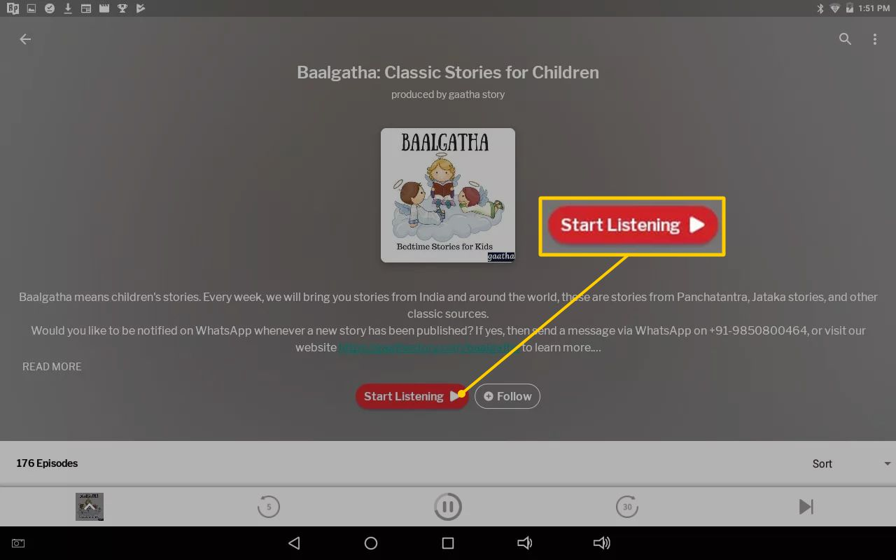 How to Listen to iTunes Podcasts on Android