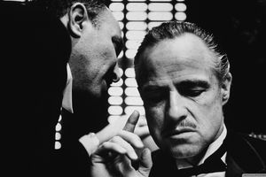 A frame from The Godfather