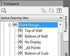 Create and Display Point Groups In Civil 3D