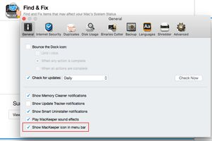MacKeeper preference pane