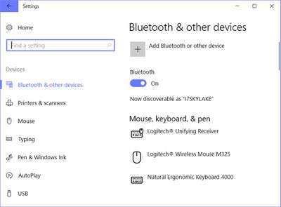 connecting bluetooth mouse to pc
