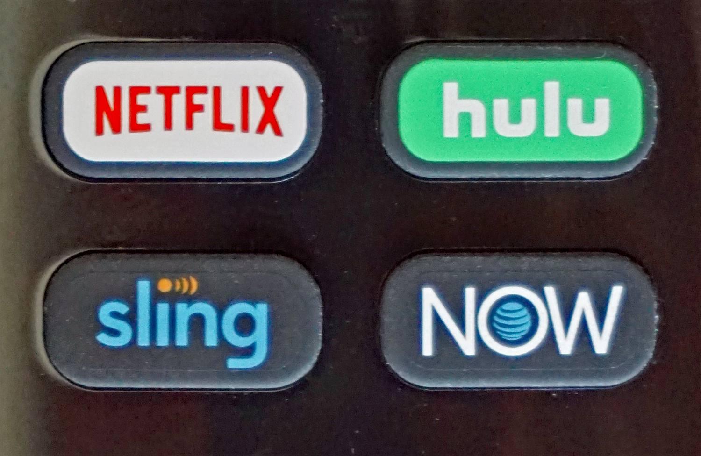 Roku TV Remote — Channel Shortcut Buttons