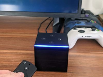 Resetting a Fire TV Cube.