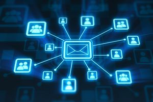 Email connecting people